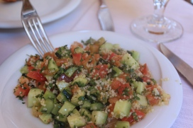 Roman Jewish Tabouleh salad
